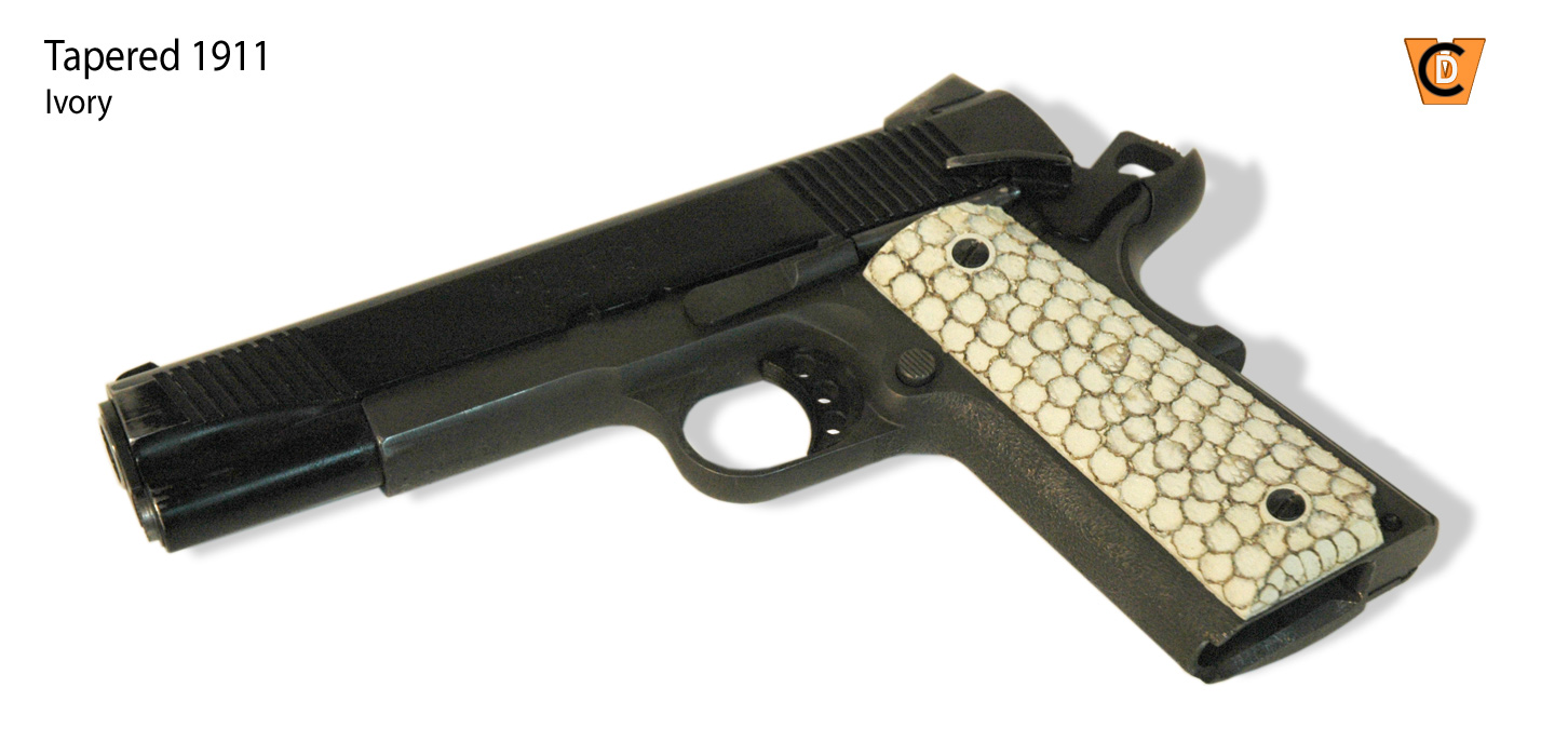 VCD Grips \\// Products: Tapered 1911 Grips